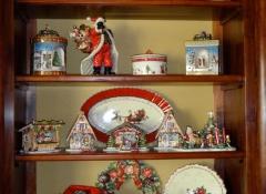 decorazioni d'interni in legno stile valentine