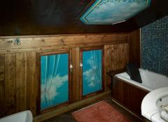 arredo d'interni in legno stile valentine