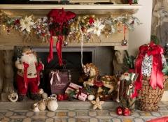 decorazione arredi natalizi stile valentine