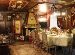arredamento interni in legno stile valentine