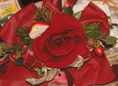 Particolare decorazione Rosa