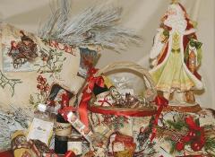 Cestino con maniglia Linea Notte di Natale