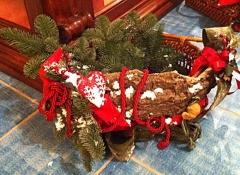 Materiali cesti natalizi Stile Valentine