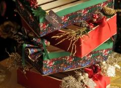 Materiali composizioni natalizie Stile Valentine