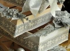 Materiali confezioni natalizie Stile Valentine