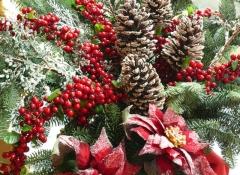 Materiali decorazioni natalizie Stile Valentine