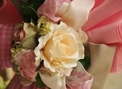 Materiali decorazioni colombe pasquali Stile Valentine