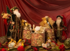 cesti natalizi lusso