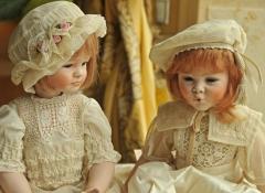 bambole di porcellana - regali d'autore stile valentine
