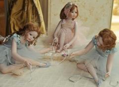 ballerine di porcellana - regali d'autore stile valentine