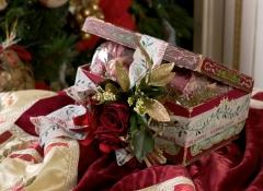 regali d'autore confezioni natale stile valentine