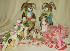 uova e colombe pasquali artigianali - Stile Valentine