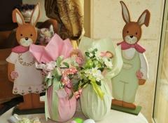 uova pasquali decorate artigianali - Stile Valentine