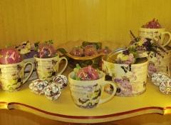 Set Violette Flor Stile Valentine