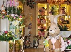 Coniglio pasquale decorativo - Stile Valentine